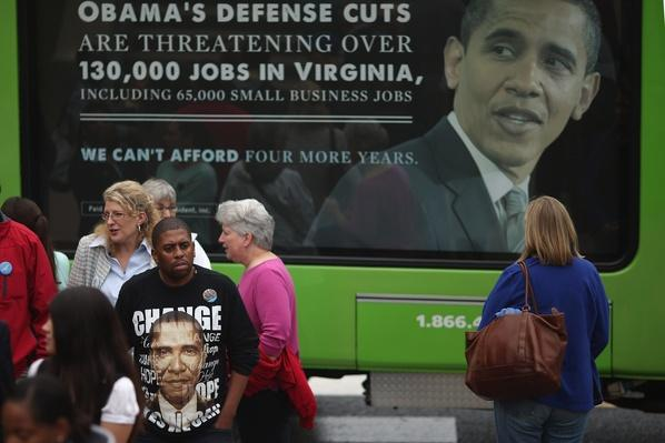 Obama Discusses Economy At Campaign Event In Virginia | U.S. Presidential Elections 2012