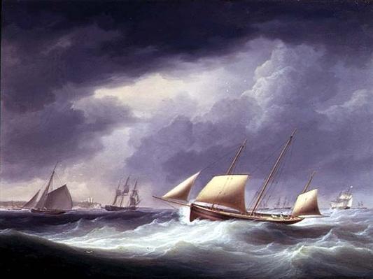 Sailing ships nr. Herne Bay