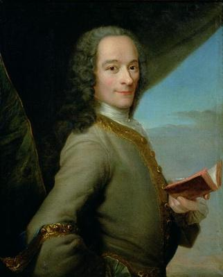 Portrait of the Young Voltaire