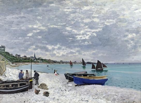 The Beach at Sainte-Adresse, 1867