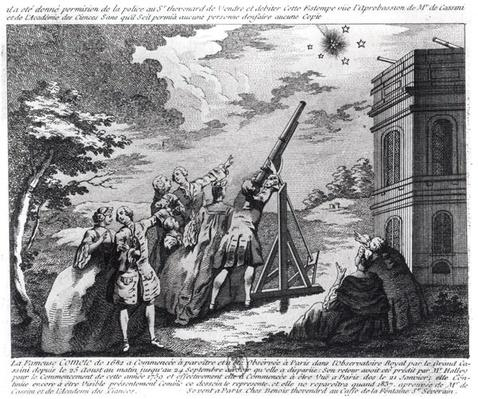Halley's Comet Observed in 1759 by Cassini III
