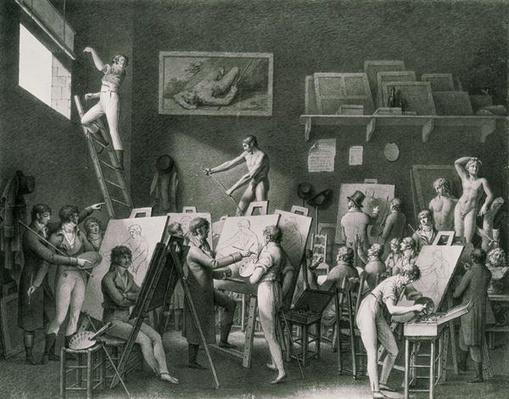The Studio of Jacques Louis David
