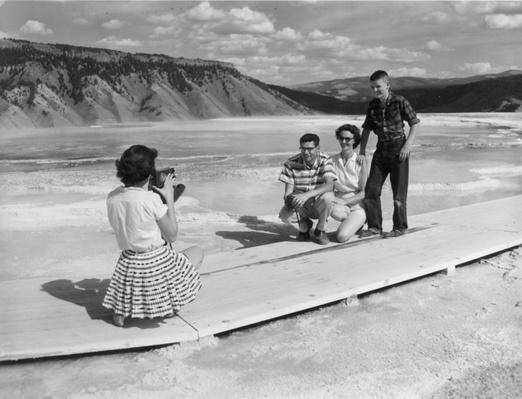 Tourist Family in Yellowstone National Park, 1958 | Ken Burns: The National Parks