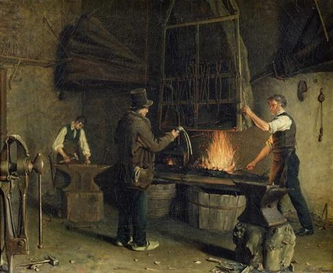 Interior of the Forge, 1837