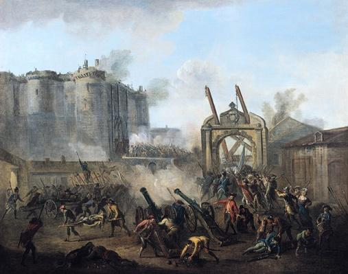 The Taking of the Bastille, 14th July 1789