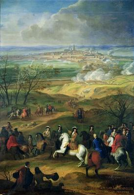 The Siege of Mons by Louis XIV