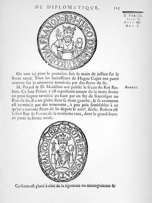 Seals of Hugues Capet