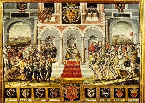 The Treaty of Cateau-Cambresis and the Embrace of Henri II