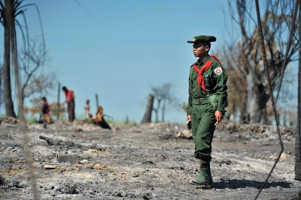 80 People Killed, Tens of Thousands Displaced by Ethnic Violence | Conflicts: Burma