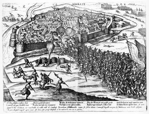 The Siege of Cambrai, September 1581