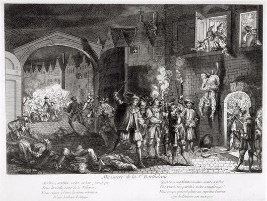 The St. Bartholomew's Day Massacre, 1572