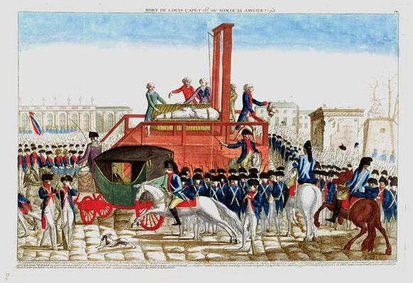 Execution of Louis XVI
