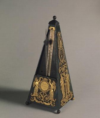 Pyramidal metronome, 1815
