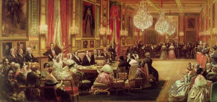 Concert in the Galerie des Guise at Chateau d'Eu, 4th September 1843, 1844