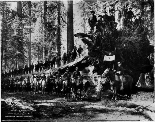 Soldiers Guarding Yosemite National Park, 1899 | Ken Burns: The National Parks