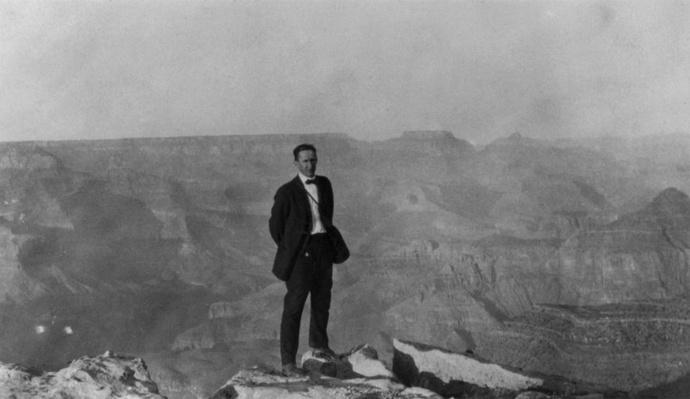 Horace Albright at the Grand Canyon, 1915 | Ken Burns: The National Parks
