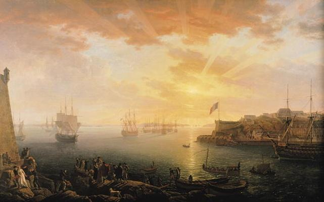 View of Brest Harbour, 1796