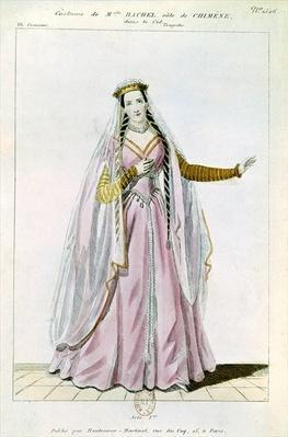 Rachel in the role of Chimene in 'Le Cid' by Pierre Corneille