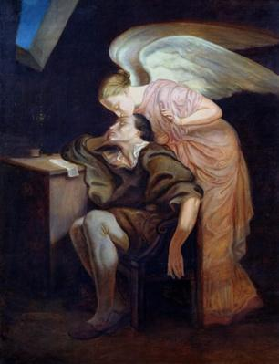 The Dream of the Poet or, The Kiss of the Muse, 1859-60