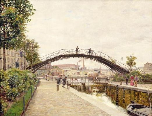 The Saint-Martin Canal