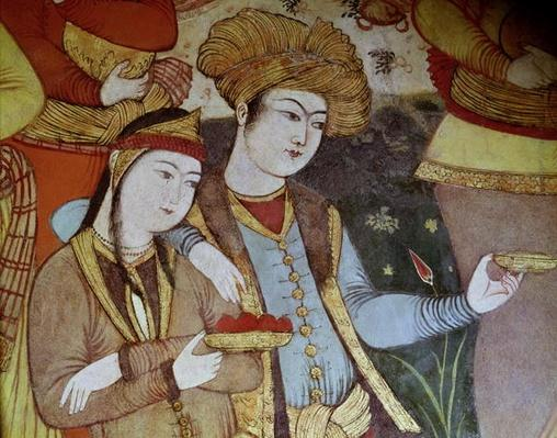 Nobles at the Court of Shah Abbas I