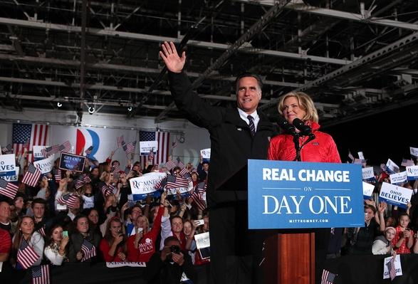 Romney Campaigns Throughout Swing States Ahead Of Presidential Election | U.S. Presidential Elections 2012