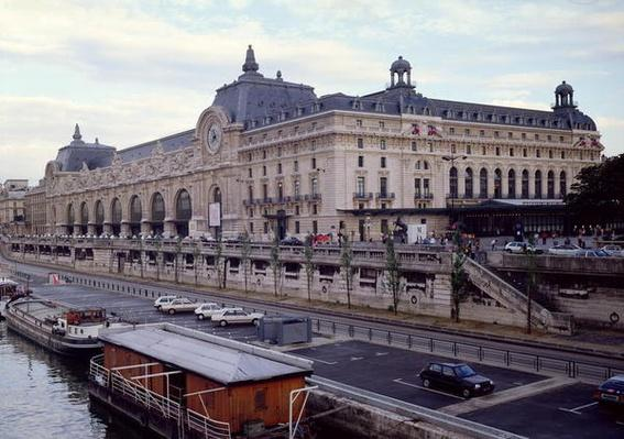 View of the Musee d'Orsay from the north-west