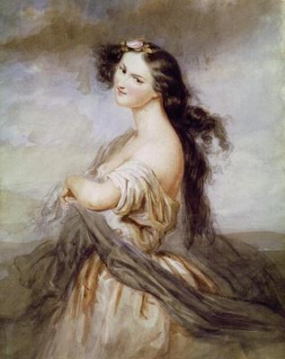 Portrait of Juliette Drouet