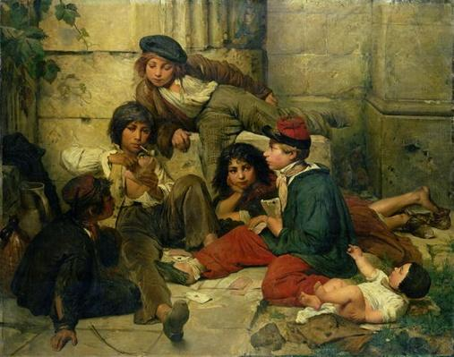 Children of the Streets of Paris, 1852