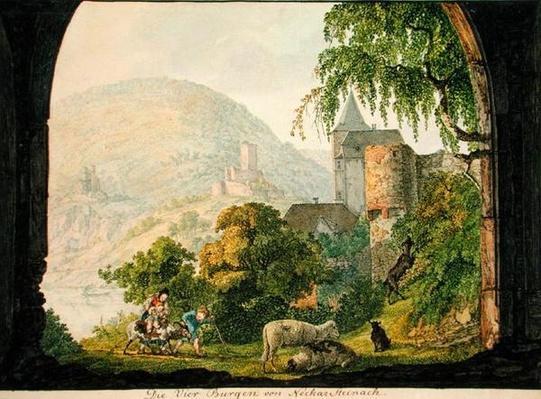 The Four Castles of Neckar Steinach