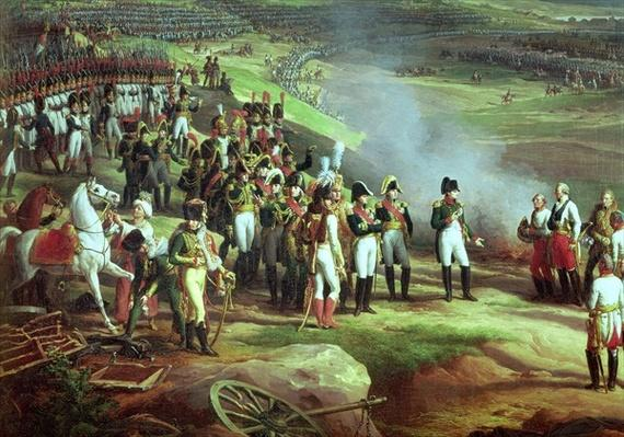 The Surrender of Ulm, 20th October 1805, detail of Napoleon, 1815
