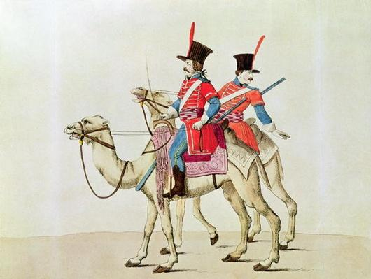 Soldiers of the Dromedary Regiment, 1839