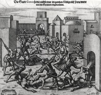 Siege of Cuzco by Francis Pizarro
