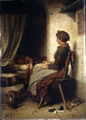 The Sleeping Child, 19th century