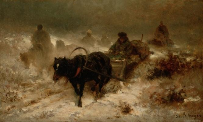 Returning Home, 19th century