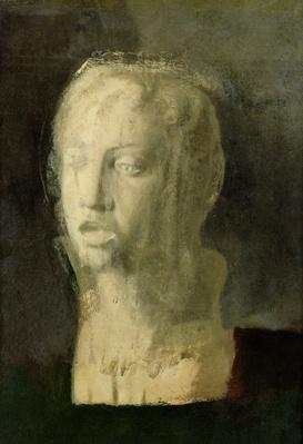 Study of the Head of a Young Singer, after Della Robbia, c.1856-58