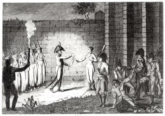 Execution of Louis Antoine Henri de Bourbon