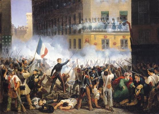 Battle in the rue de Rohan, 28th July 1830, 1831