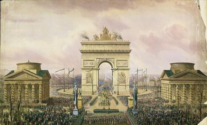 Return of the Ashes of the Emperor to Paris, 15th December 1840