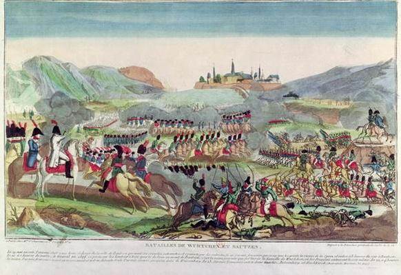 Battles of Wurtchen and Bautzen, 20th May 1813
