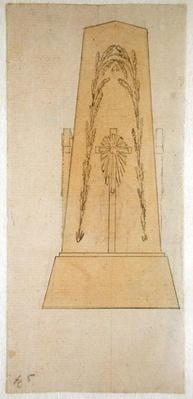 Design for a monument, 1812