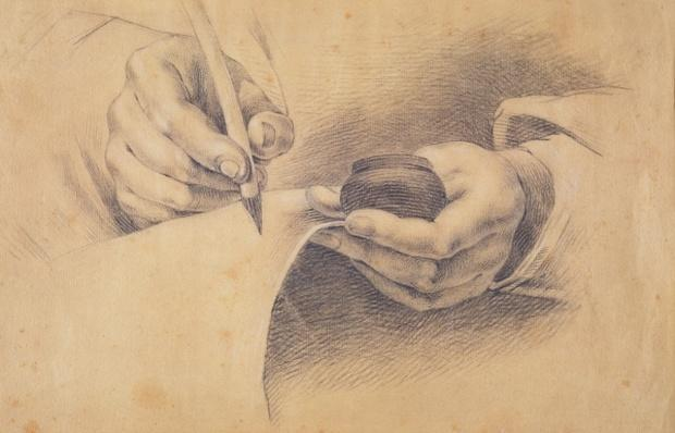 Drawing Hands, 1798