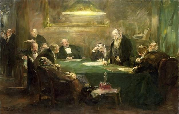 The Meeting of the Board of Directors, 1900