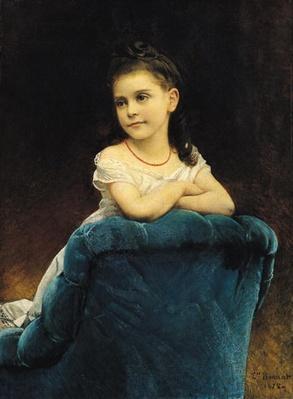 Portrait of Mademoiselle Franchetti, 1877