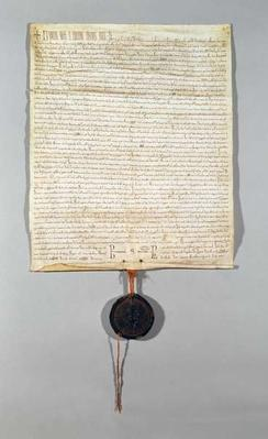 Charter of the Peronne Commune, granted by Philippe Auguste