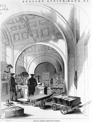 Bullion Office - Receiving Office, Bank of England