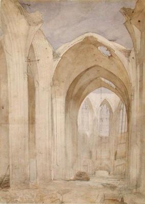Ruins of St. Nicholas, 1842