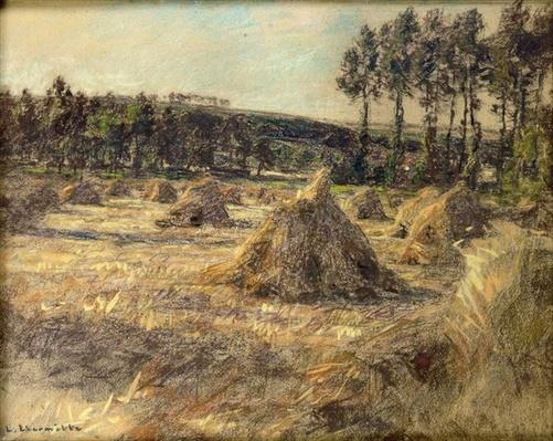 Haystacks in Sunset, 1906