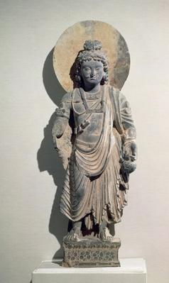 Standing Bodhisattva Maitreya, 3rd century