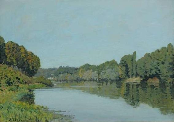 The Seine at Bougival, 1873